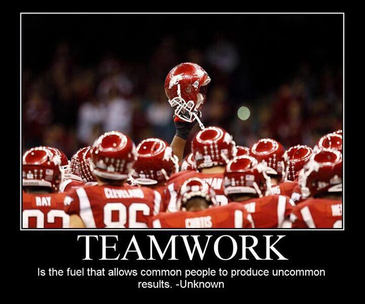 Motivational Quotes For Sports Teams: Cheer Quotes About Teamwork. QuotesGram