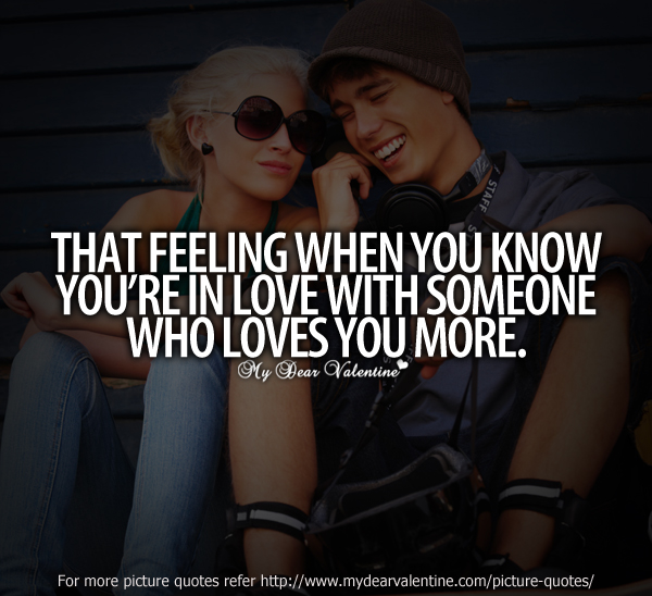You Know You Re In Love When Quotes: Quotes When You Know That Feeling. QuotesGram