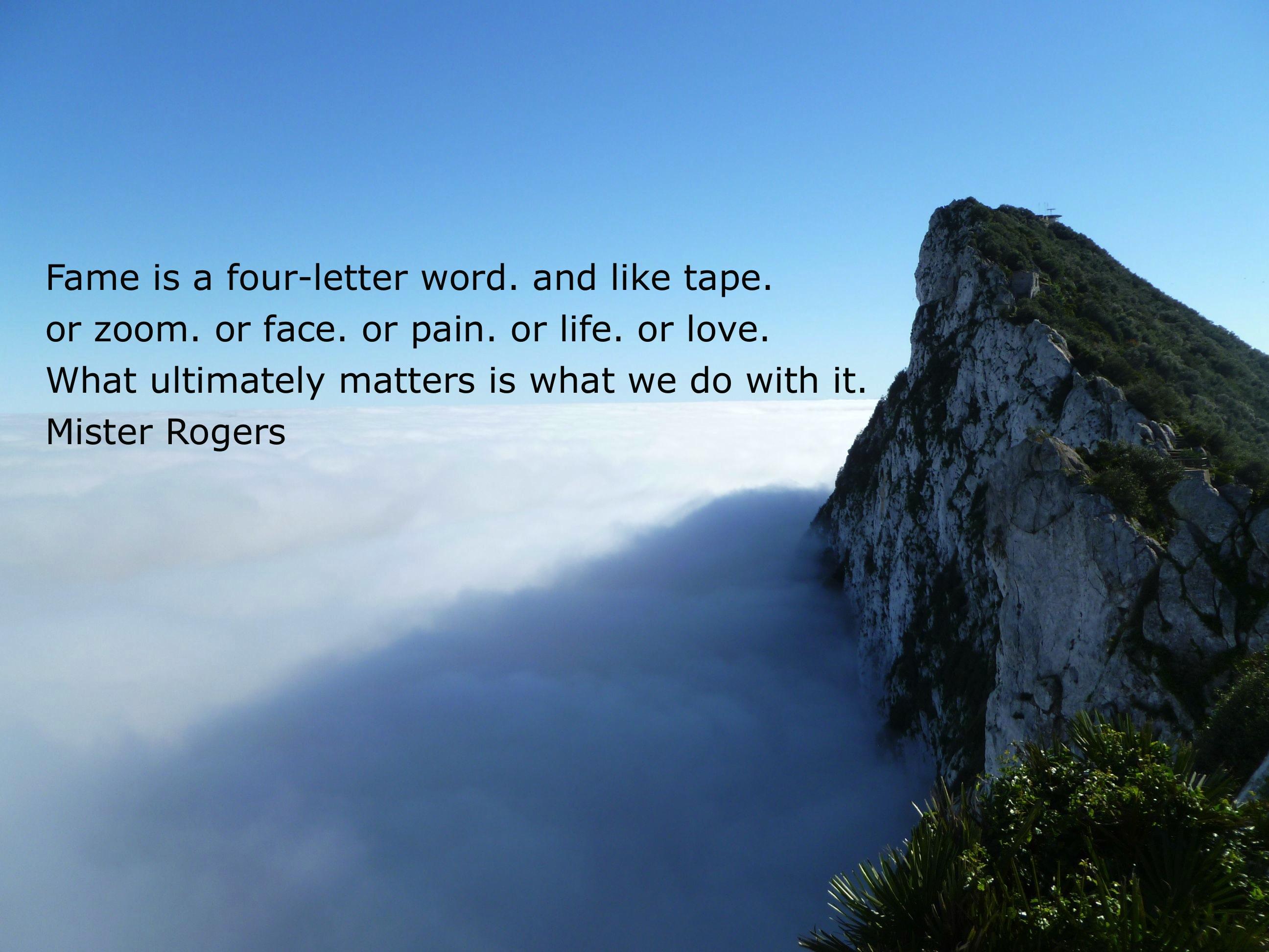 Mr Rogers Quotes Best Quotesgram