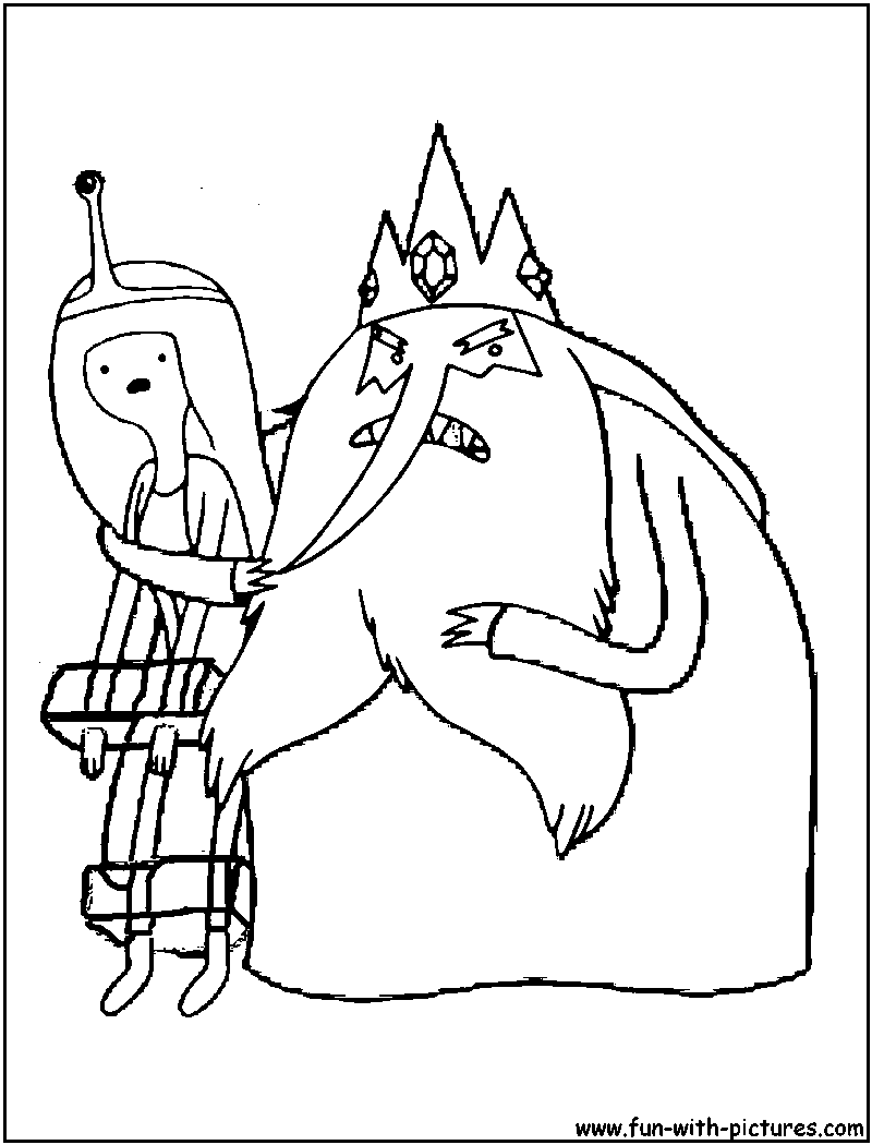 princess bubblegum coloring pages - photo#22