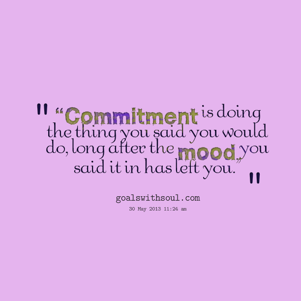 Commitment vs. Interest: The Key to Achieving Your Dream Goals by @Melcoach