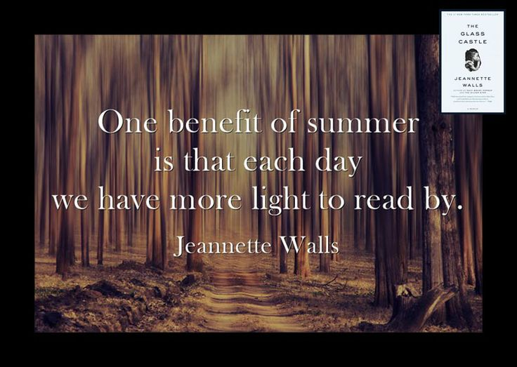 Summer Reading Jeannette Walls Quotes. QuotesGram