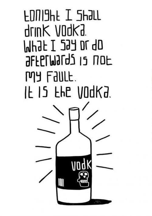 funny quotes about vodka quotesgram