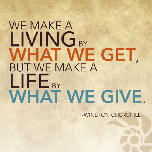 Quotes On Giving Back: Famous Quotes About Giving Back. QuotesGram