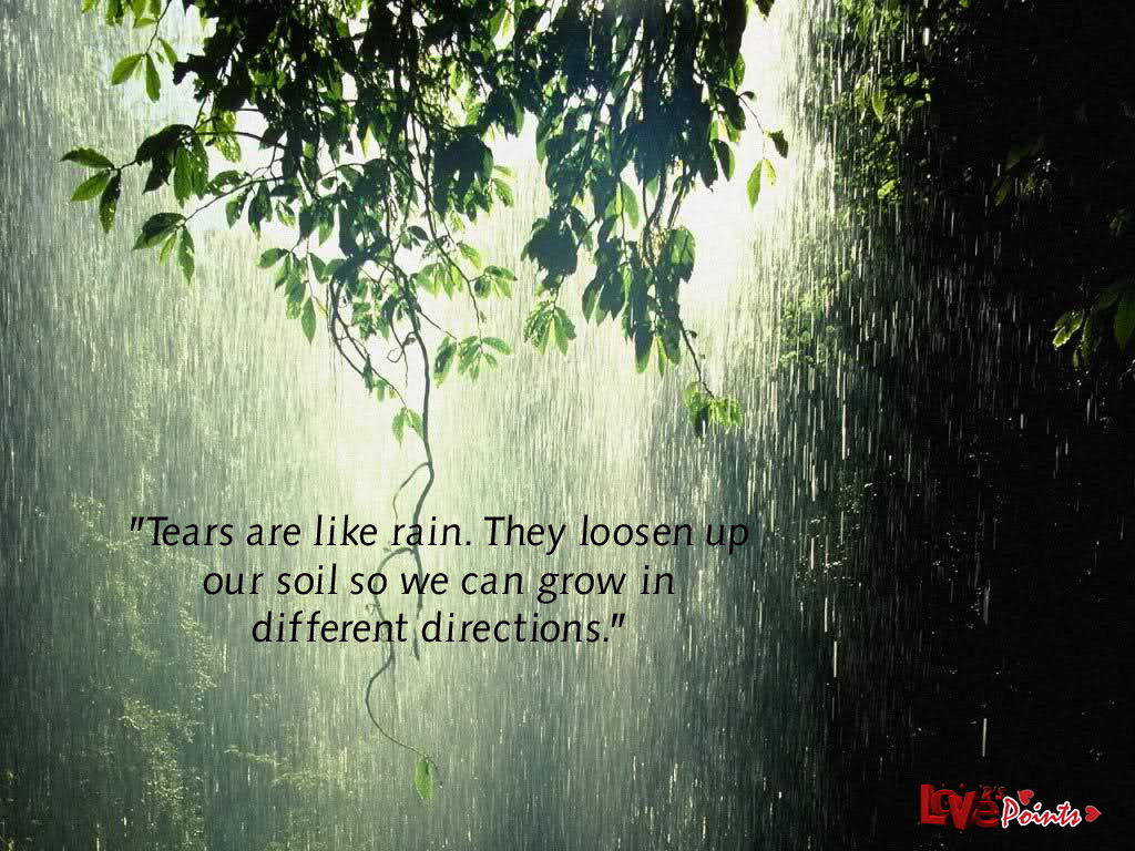 Blessed Rainy Day Quotes: Happy Rainy Quotes. QuotesGram