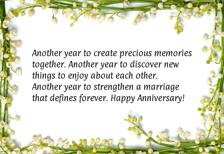 One Year Anniversary Sayings and Quotes