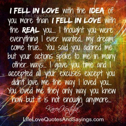 Real Love Quotes And Sayings. QuotesGram