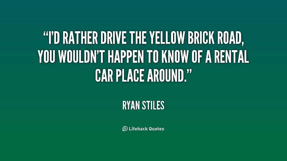 Yellow Brick Road Quotes. QuotesGram