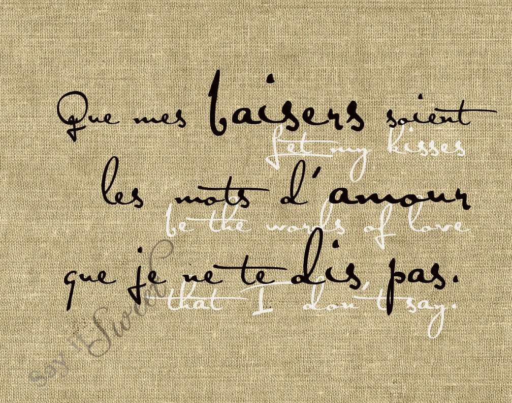 French Love Phrases And Quotes. QuotesGram