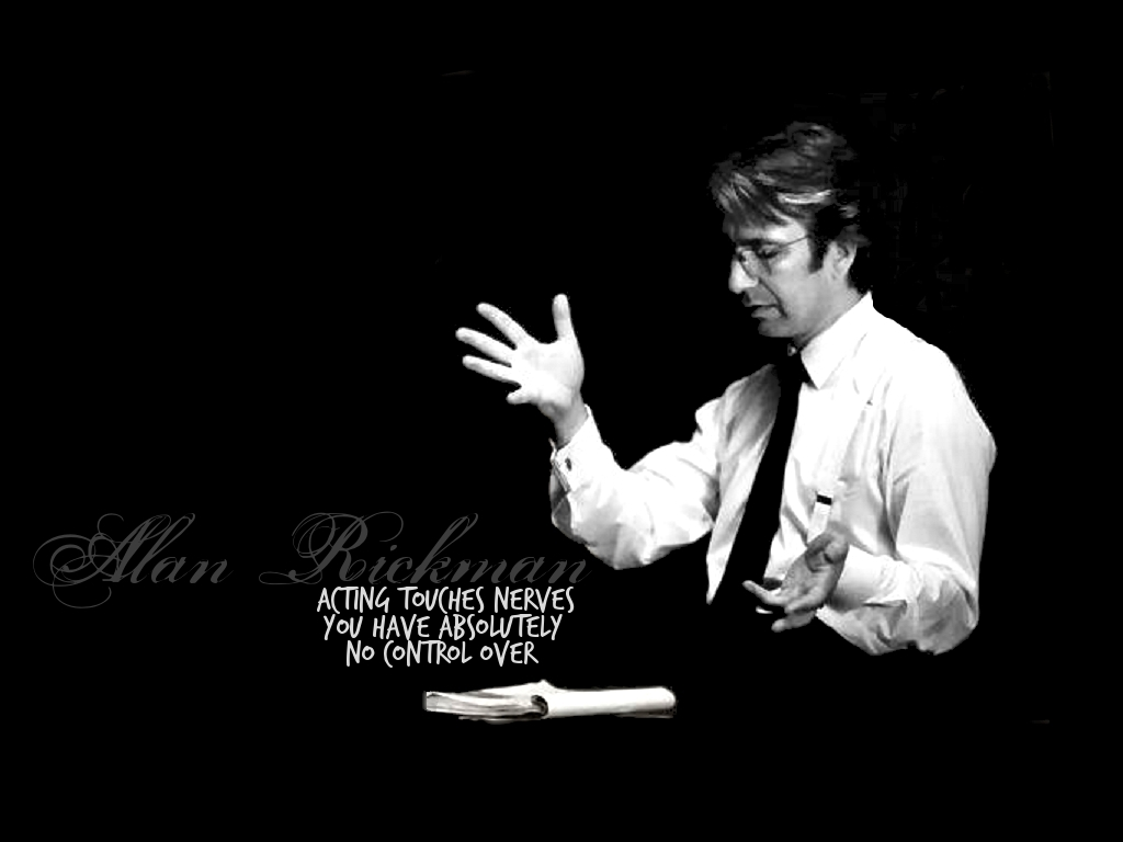Alan Rickman Movie Quotes: Alan Rickman Quotes. QuotesGram