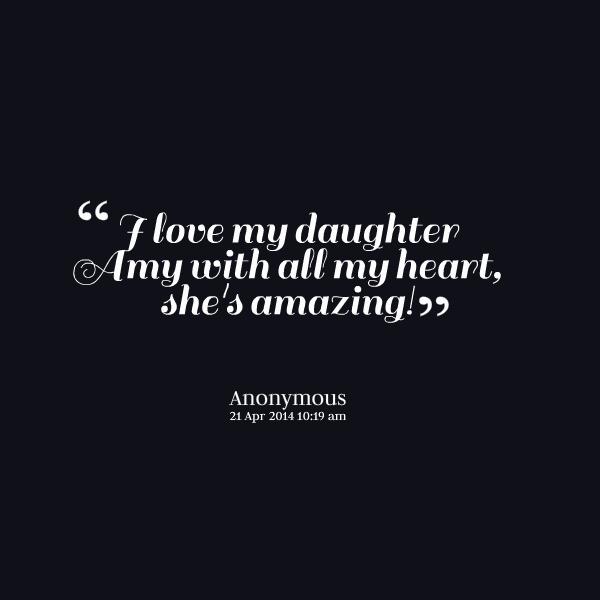 My Amazing Daughter Quotes. QuotesGram