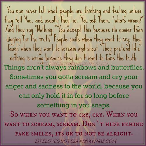 Quotes About Wanting To Cry Wanting To Cry ...
