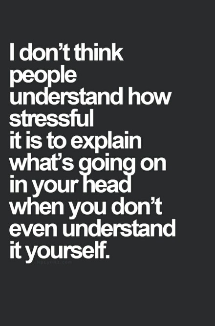Stress and depression quotes quotesgram - I am in stress ...