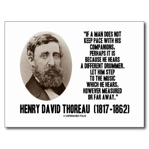 Thoreau Quotes: Individualism Quotes By Thoreau. QuotesGram
