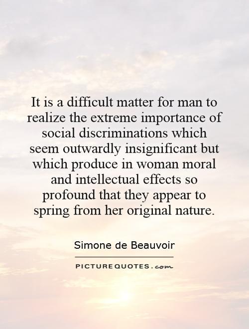 Quotes On Women Discrimination. QuotesGram