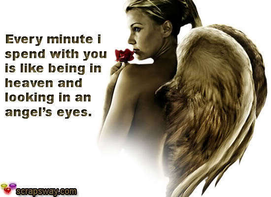 Quotes About Being An Angel. QuotesGram