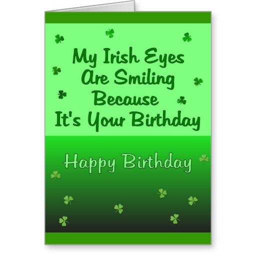Irish Birthday Quotes For Friends. QuotesGram