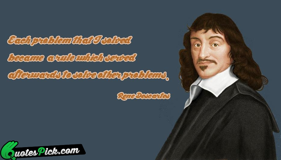 account of the life of rene descartes Life rené descartes was born to joachim descartes and jeanne  the story  picks up in the summer of 1618 when descartes went to the.