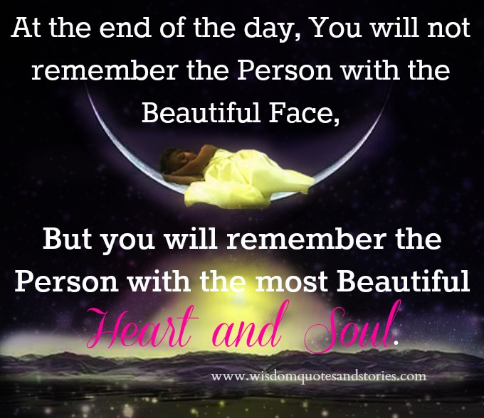 Quotes On Beautiful Face And Heart: For The Heart Quotes Wisdom. QuotesGram