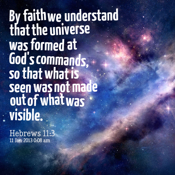 God as a mystery which we can understand through faith