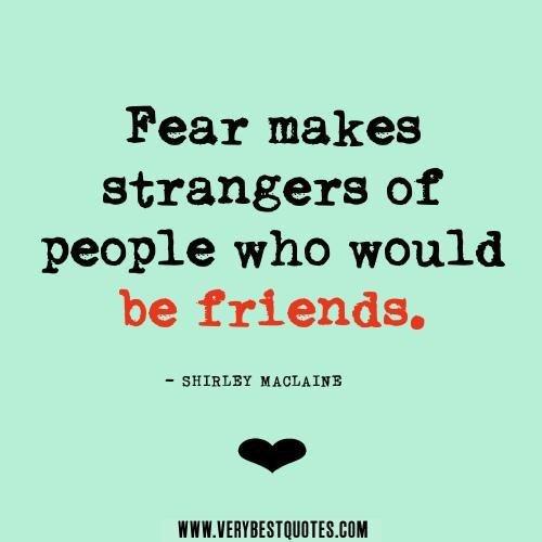 Famous Quotes About Fear: Quotes About Fear. QuotesGram