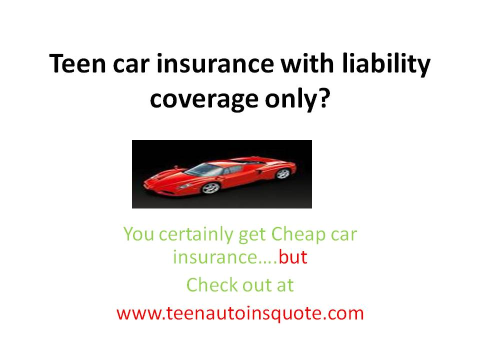 Lastest Car Insurance Quotes For Teens QuotesGram
