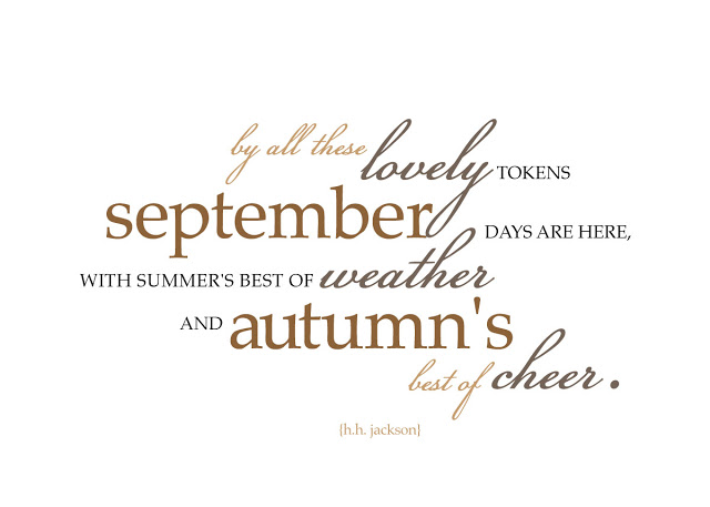 September Quote Of The Month