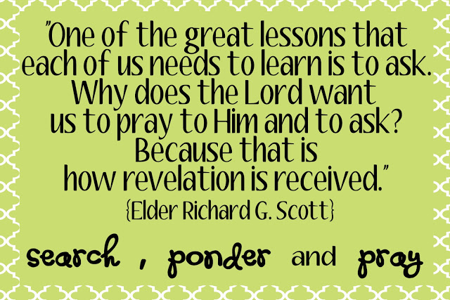 Lds Quotes For Youth: Quotes On Personal Revelation. QuotesGram