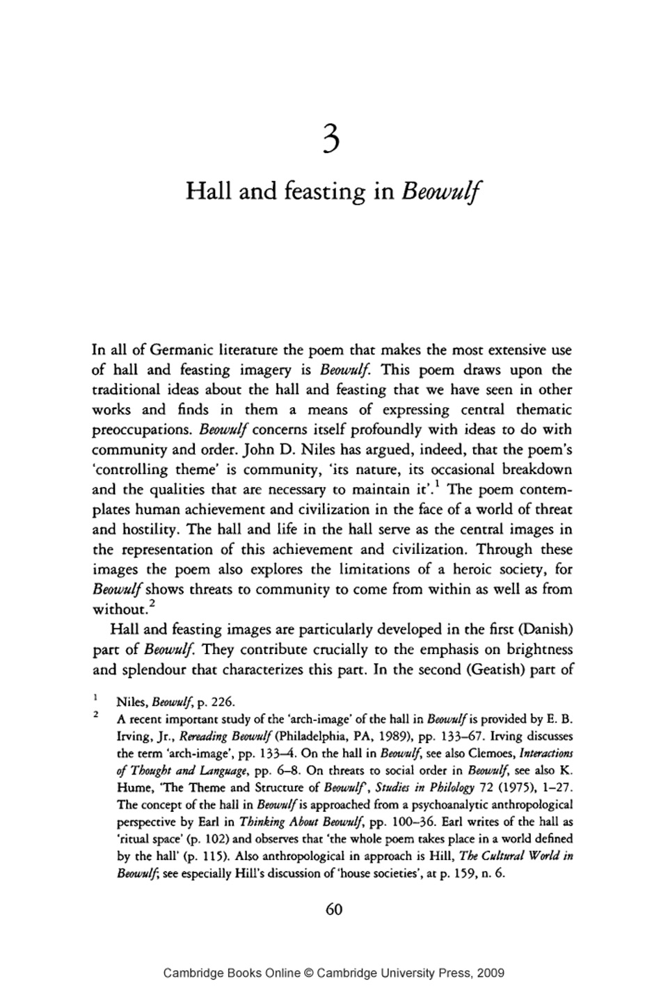 beowulf poem analysis The postmodern beowulf: a critical casebook thormann's essay, because it addresses not just a lacanian analysis of violence in the poem.