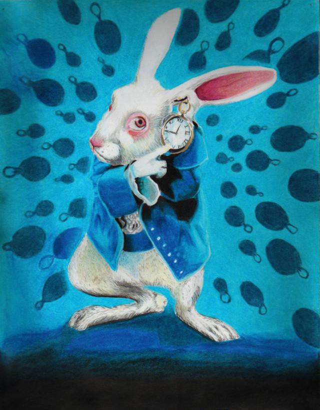 White Rabbit Alice Im Wunderland
