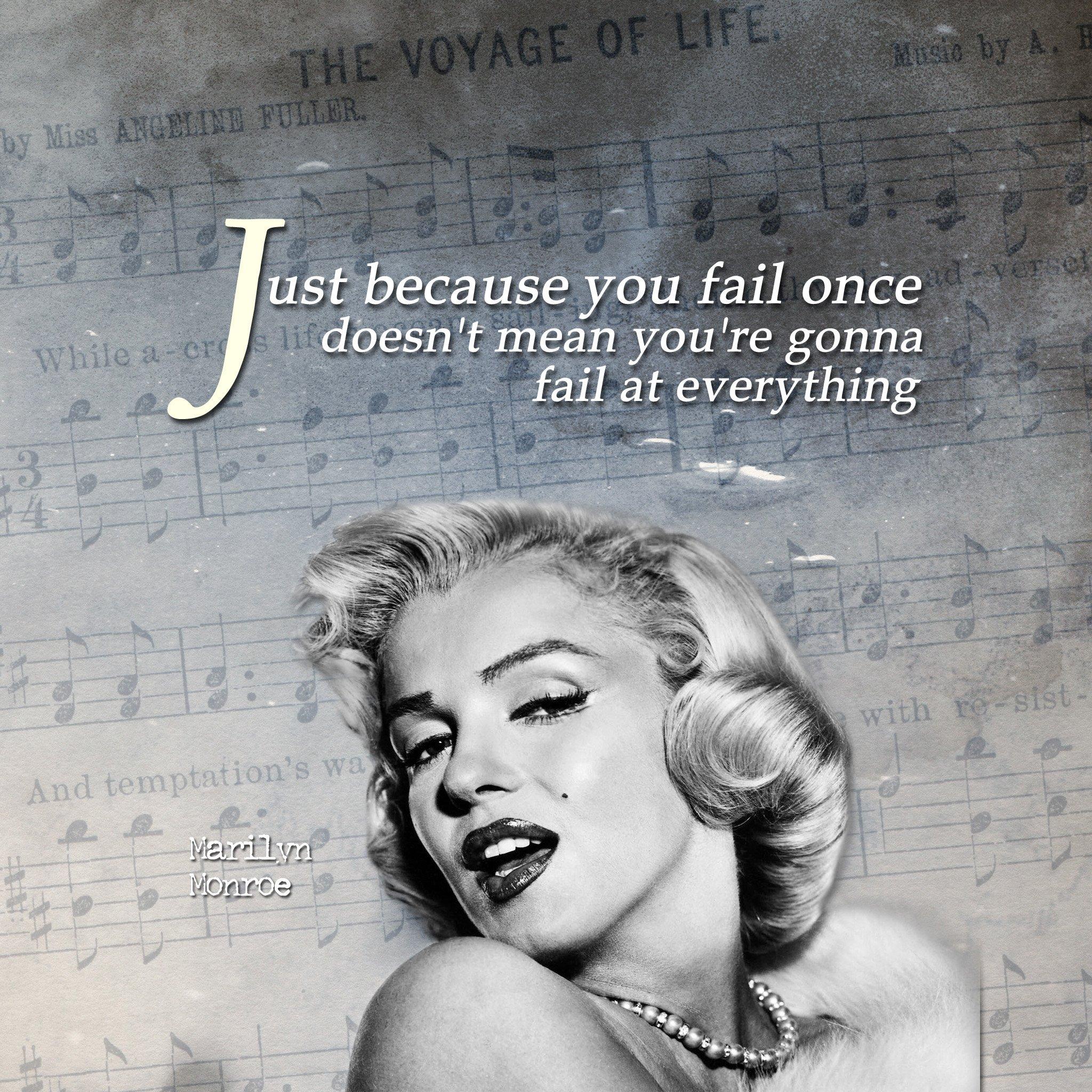 Marilyn Monroe Quotes: Marilyn Monroe Quotes Inspirational. QuotesGram