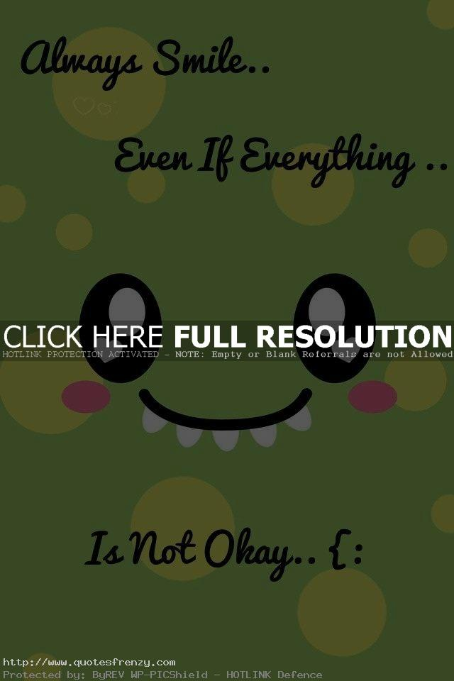 inspirational quotes about smiling quotesgram