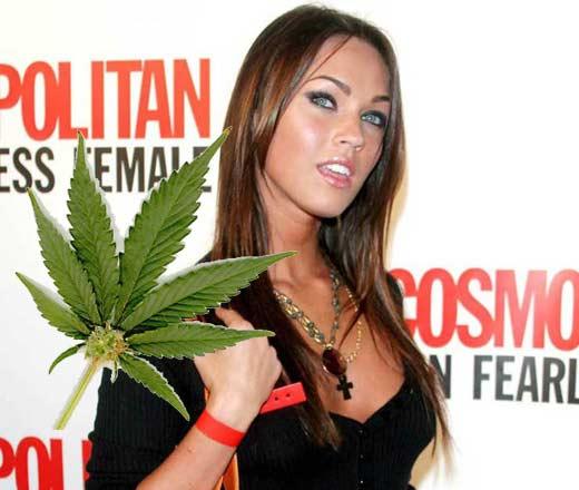 Меган фокс марихуаны марихуана за какое время выводится из организма