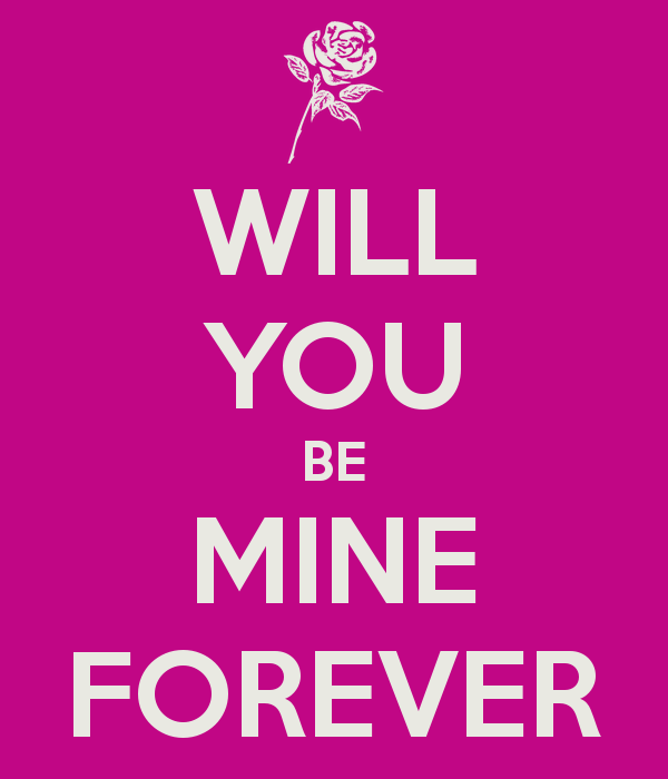 will you be mine quotes
