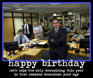 the office birthday quotes. quotesgram, Birthday card