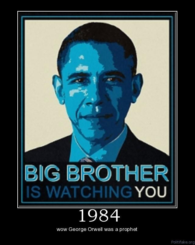 a literary analysis of the big brother in 1984 by george orwell