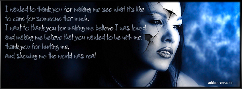 Broken Hearted Quotes Cover Photo: Goth Broken Heart Quotes. QuotesGram