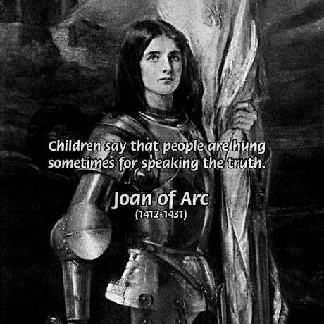 st joan of arc quotes quotesgram. Black Bedroom Furniture Sets. Home Design Ideas
