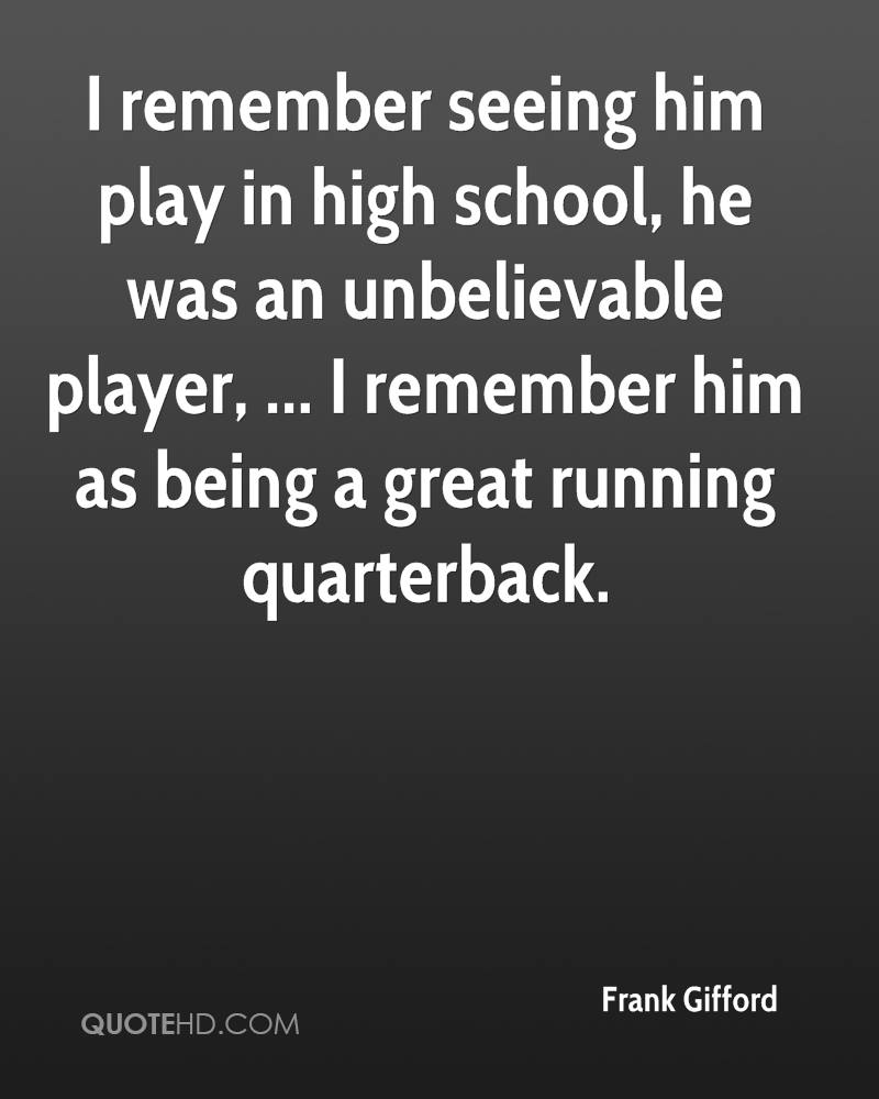 Without High School Quotes And Sayings: Remembering High School Quotes. QuotesGram