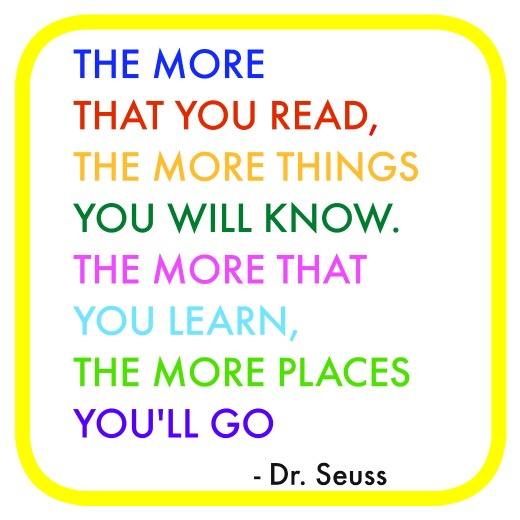 Reading Quotes For Kids: Dr Seuss Quotes Reading. QuotesGram