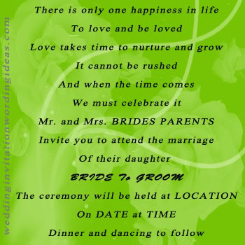 Romantic Quotes For Wedding Invitations Quotesgram