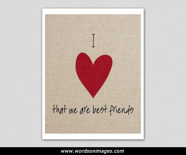 Valentine Quotes For My Best Friend: Valentines Friendship Quotes. QuotesGram