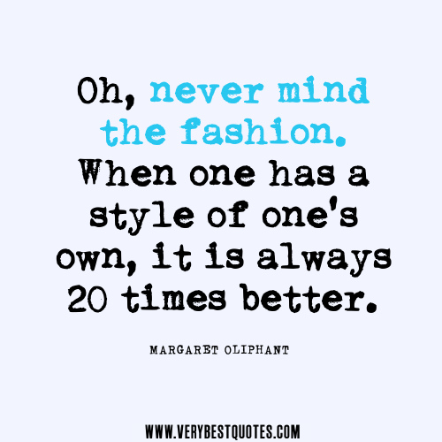 Style Quotes Fashion Quotesgram