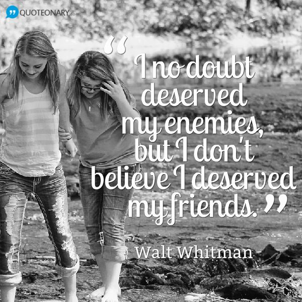 Walt Whitman Quotes Love: Walt Whitman Quotes On Friendship. QuotesGram