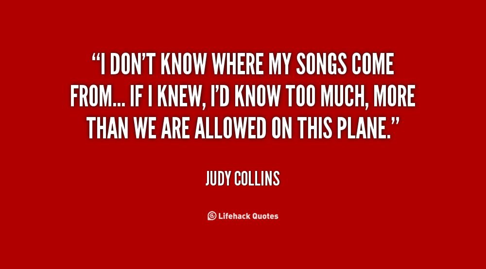 Judy Collins Quotes. QuotesGram