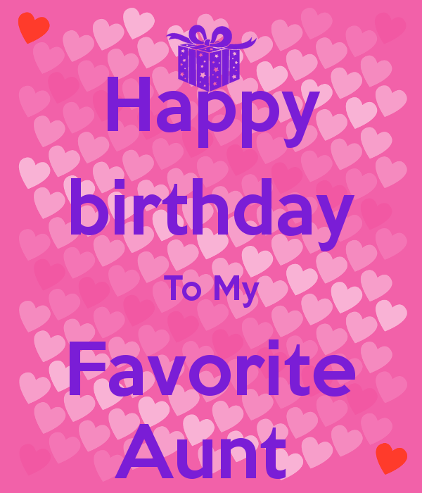 happy birthday to my aunt quotes
