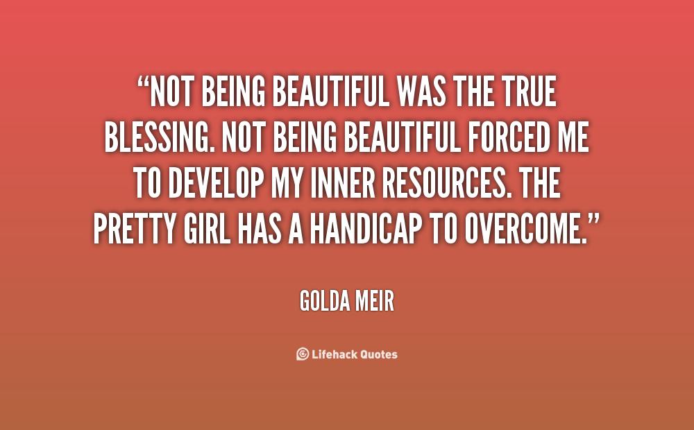 Being Beautiful Quotes. QuotesGram
