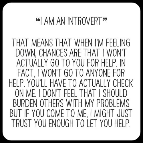 Funny Quotes Shy People: Funny Quotes About Introverts. QuotesGram