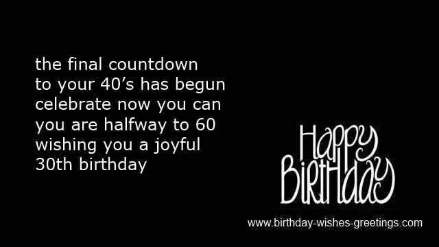 Birthday Quotes For Men Black. QuotesGram30th Happy Birthday Wishes For Men