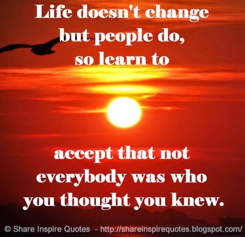 Accept The Change Quotes: Learning To Accept Change Quotes. QuotesGram